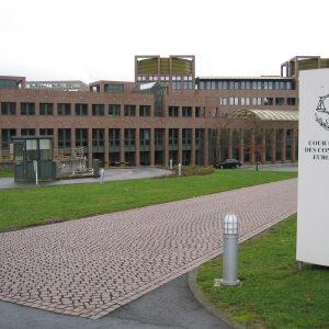 Gebäude des Europäischen Gerichtshofes