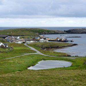 Out Skerries, Shetland Inseln, Schottland