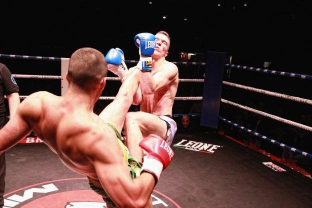 Zwei Kämpfer im Ring