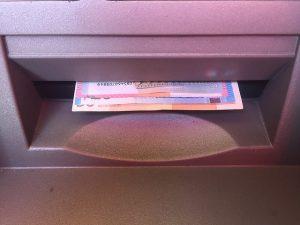 Geldausgabe, Geldautomat