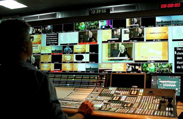 Regieraum Fernsehen