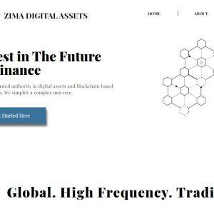 Zima Digital Assets Screenshot