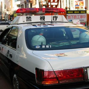 Polizeiwagen Japan