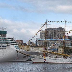 Wladiwostok, Wladiwostok Hafen, Russland, Ostrussland