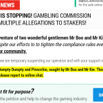 Britische Behörden heben Lizenz der Online-Glücksspiel-Firma Stakers Limited auf