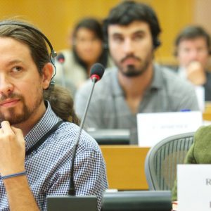 Pablo Iglesias Turrión, spanischer Vizepräsident, Unidas Podemos