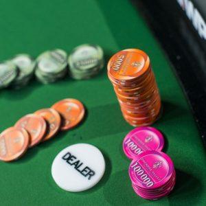 Chips, Dealer Button