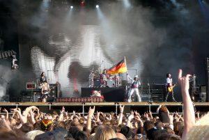 Rockkonzert, Musiker, Fans