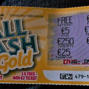 Rubellos der irischen National Lottery