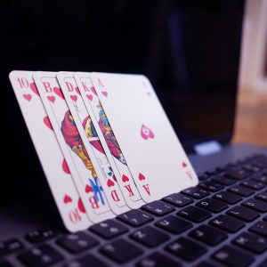 Spielkarten, Laptop