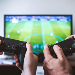 Videospiel zu zweit