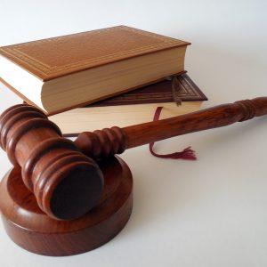 Richterhammer, Gesetzbücher