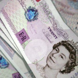 Banknoten Pfund