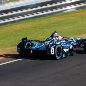 Formel E-Rennwagen