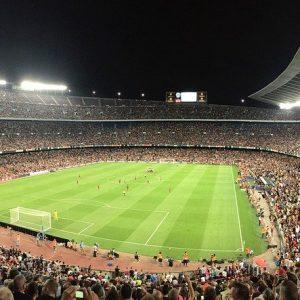 Fußballstadion Barcelona, spanischer Fußball