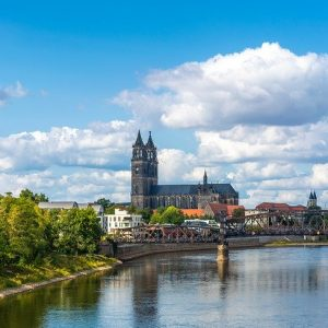 Magdeburg, Dampfer