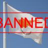 Flagge Zypern, banned