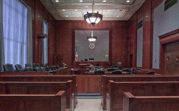 US-Gerichtssaal