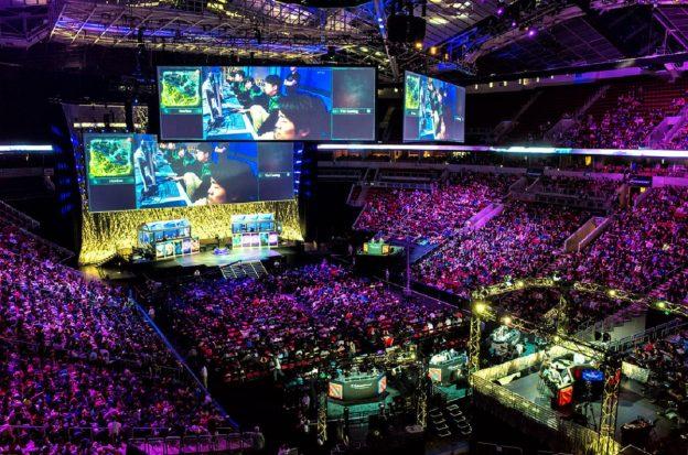 DOTA 2 Turnier in Arena