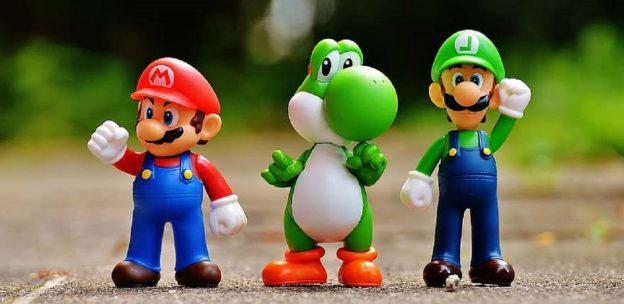 Mario Kart Charaktere Mario Luigi Yoschi