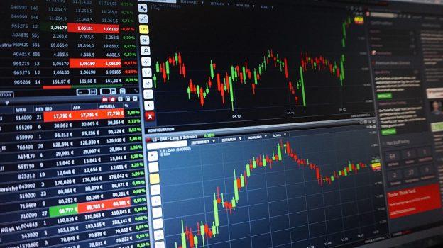 Börsentabelle Zahlen Stock Exchange Market
