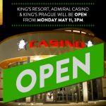 King's Casinos in Rozvadov und Prag öffnen nächste Woche