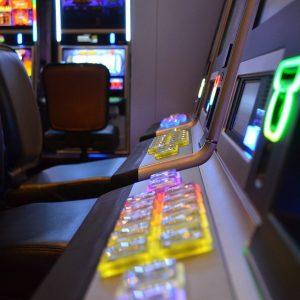 Spielautomaten in Spielhalle