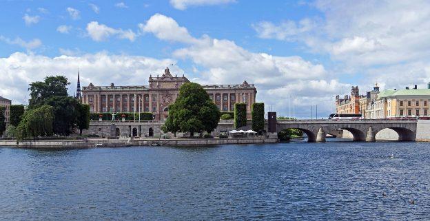 Stockholm Regierung Reichstag Riksdag