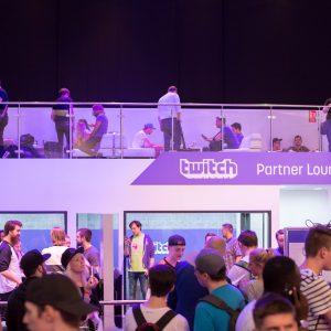 Twitch Partnerlounge Spielemesse