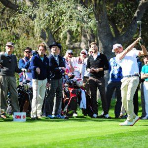 Menschen, Golfplatz