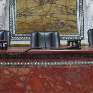 Gerichtssaal in den USA