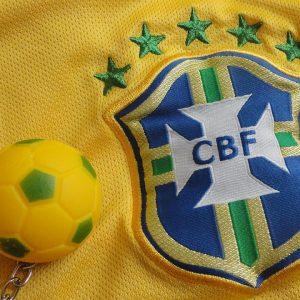 Brasilie Fußball Trikot Schlüsselanhänger