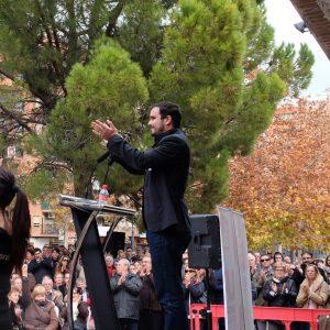 Alberto Garzón, spanischer Verbraucherschutzminister, Bühne