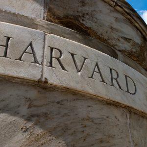 Harvard Medical School, Schriftzug