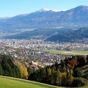 Innsbruck aus der Luft