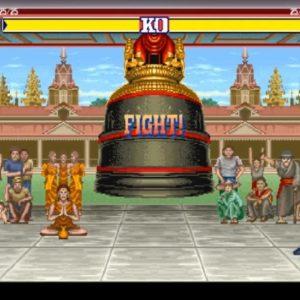 Street Fighter II Szene