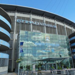 Etihad Stadion in Manchester