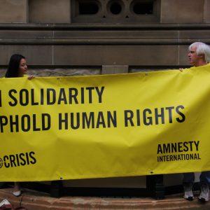 Amnesty International Protest
