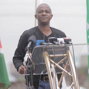 FKF-Praesident Nick Mwendwa Fußball Kenia