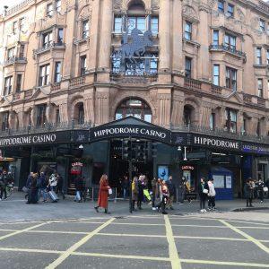 Hippodrome Casino in London Außenansicht