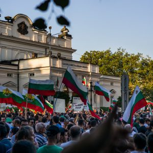 Protest Bulgarien