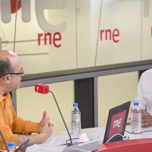 Alberto Garzón, Interview Radio RNE