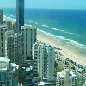 Gold Coast, Meer, Gebäude