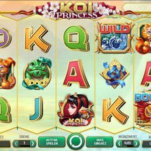 Koi Princess Online Spielautomat