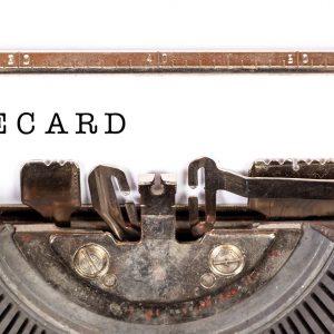 Wirecard, Schreibmaschine
