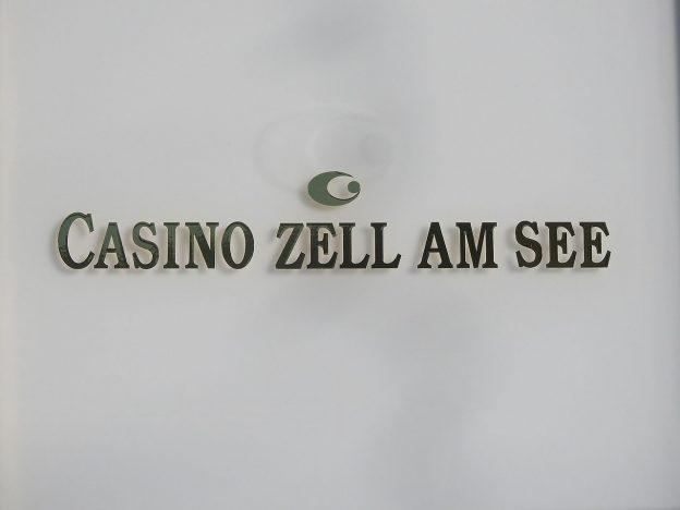 Casino Zell am See Schriftzug