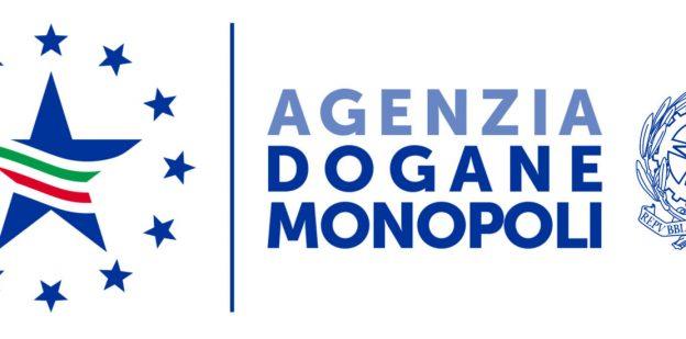 Logo der italienischen Zollverwaltungsbehörde Agenzia delle Dogane e dei Monopoli AGM