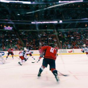 Capital One Arena Ice Hockey NHL Spiel