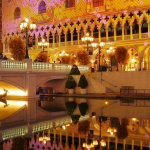 Venetian Macau, Gondel, Wasser