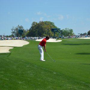 Golf, Abschlag, Caddie